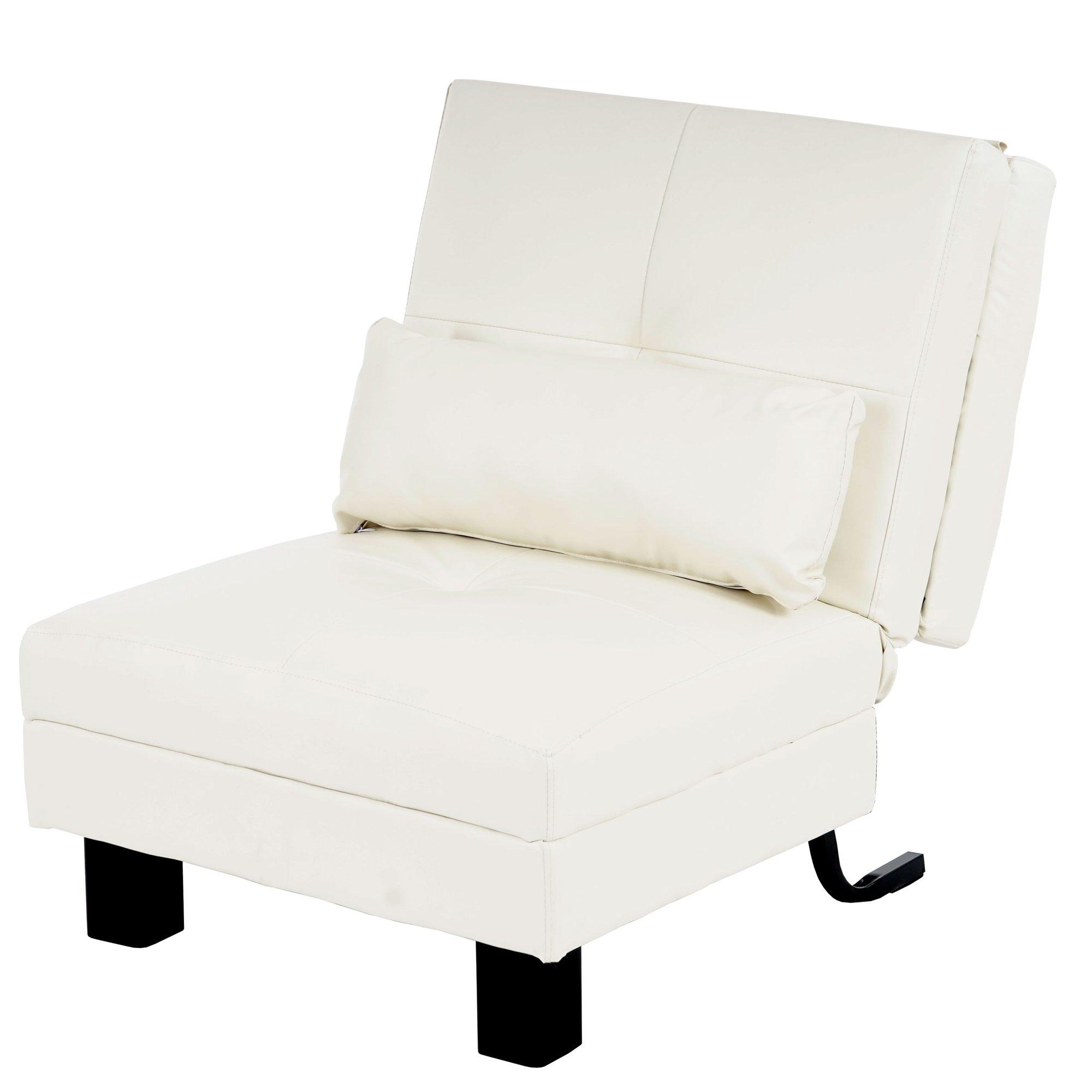 Cama sill n relax manta gran confort piel color crema for Sillon relax de piel